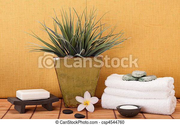 Tranquil Spa - csp4544760