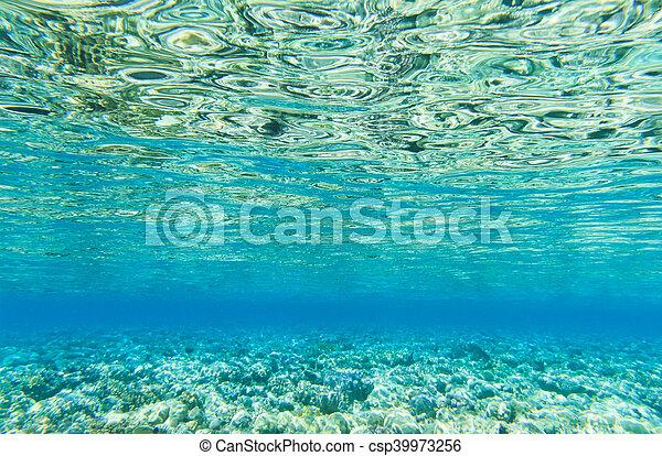 Tranquil underwater - csp39973256