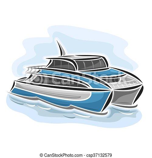 Ferry catamaran - csp37132579