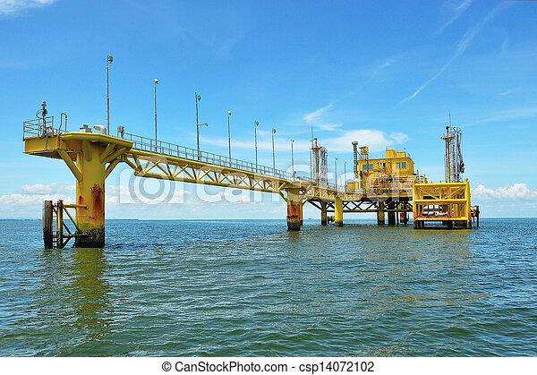 transferencia, aceite, plataformas - csp14072102