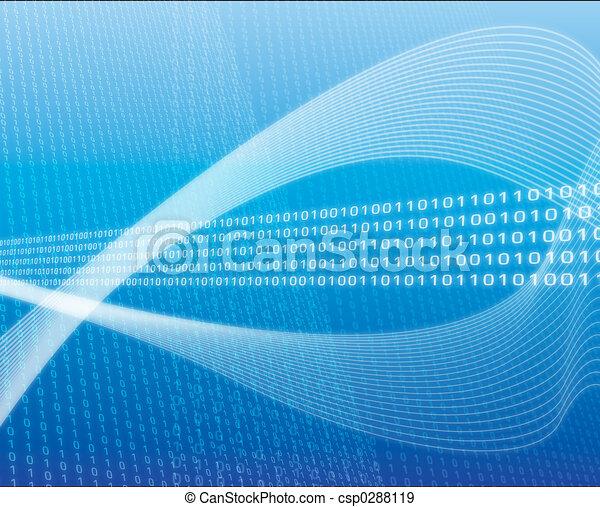 transfert, données - csp0288119