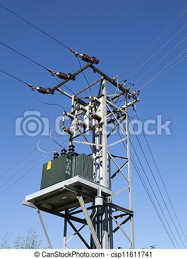 transformateur, puissance - csp11611741