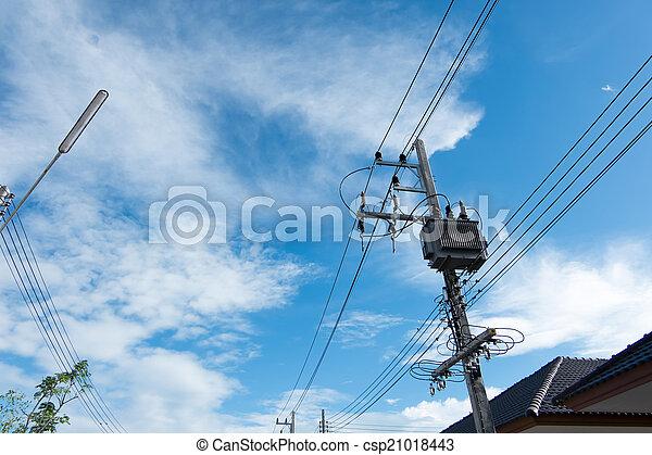 transformateur, puissance - csp21018443