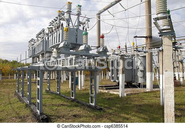 transformateur, puissance - csp6385514