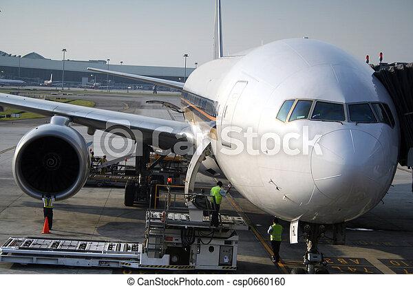 transit, avion - csp0660160