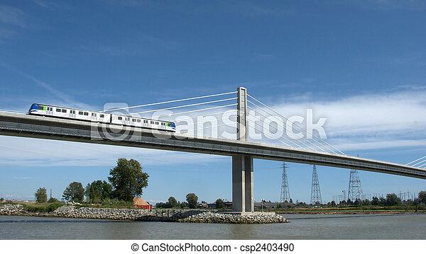 transit, rapide, moderne - csp2403490
