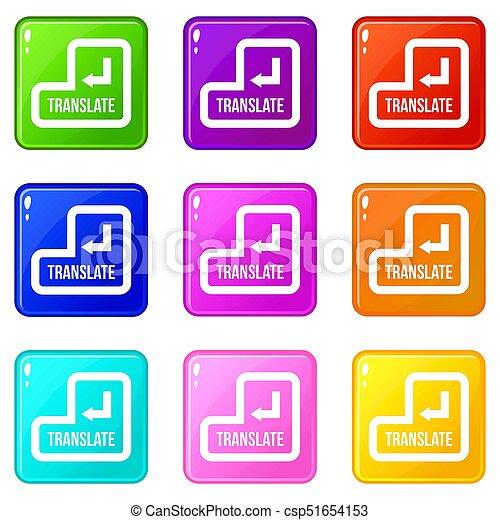 Translate button set 9 - csp51654153