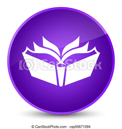 Translation icon elegant purple round button - csp50671094