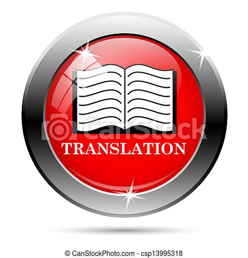 Translation icon - csp13995318