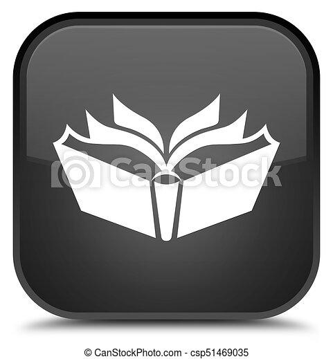 Translation icon special black square button - csp51469035