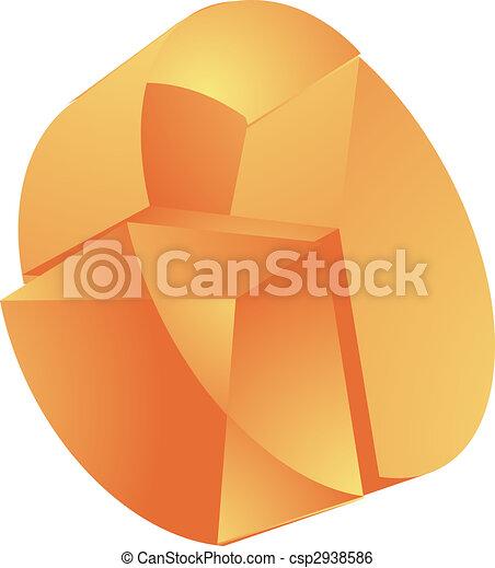 translucent pie chart stock illustration_csp2938586 translucent pie chart 3d translucent pie chart financial diagram