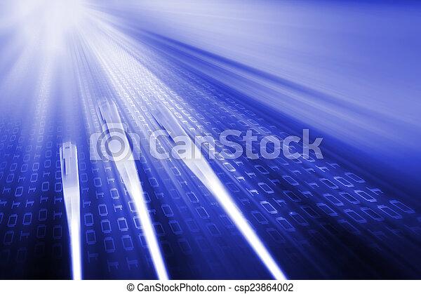 transmissão, dados - csp23864002