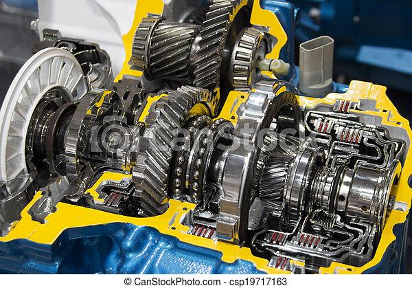 transmission, automobile - csp19717163