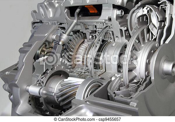 transmission, automobile - csp9455657