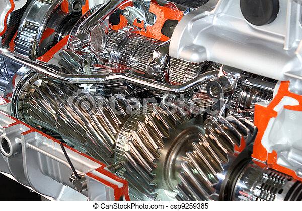 transmission, engrenages - csp9259385