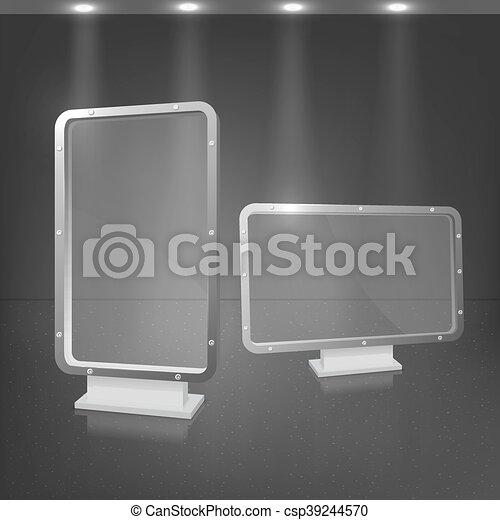 Transparency lightbox - csp39244570