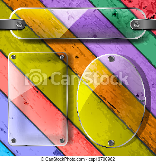 transparency plates on the Colorful - csp13700962