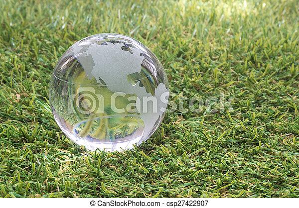 Transparent globe - csp27422907