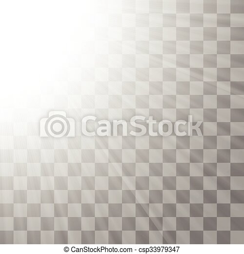 Transparent Light Background On Gray Checkered