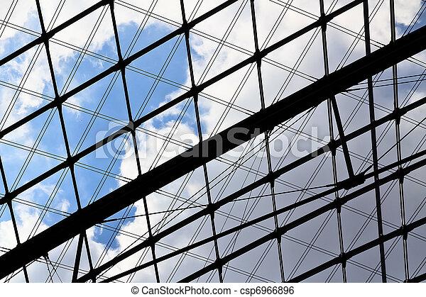 Transparent roof - csp6966896