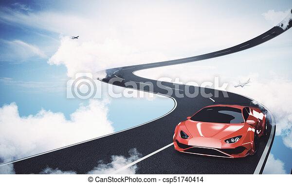 Transport concept - csp51740414