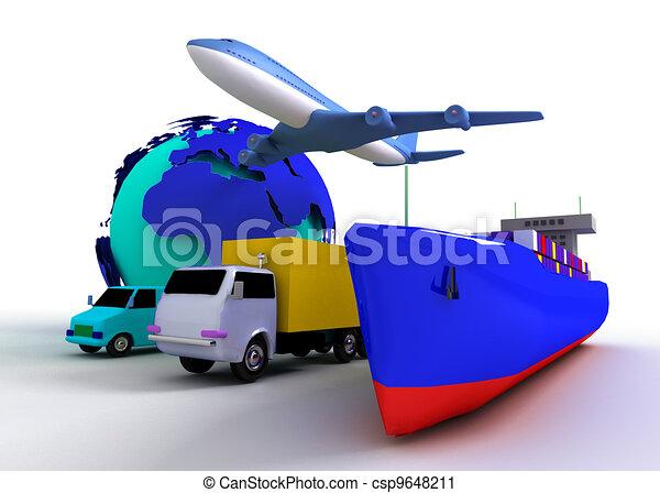 transport concept - csp9648211
