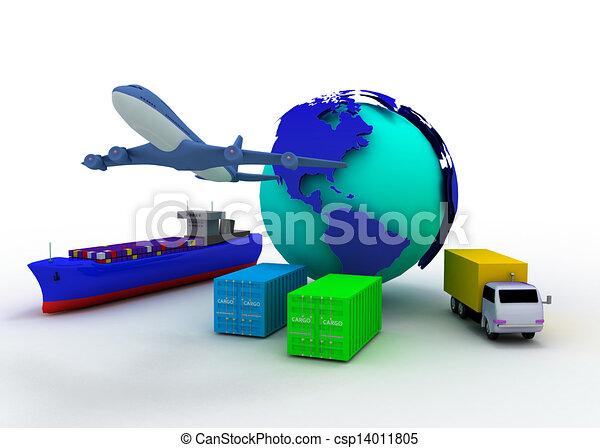 transport concept - csp14011805