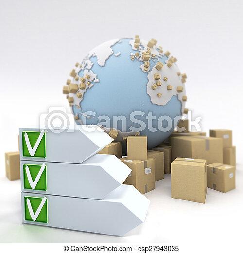 Transport delivery checklist - csp27943035