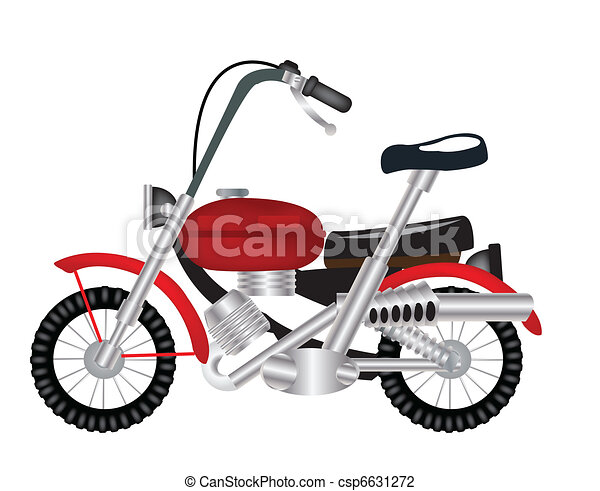Transport facility motorcycle - csp6631272