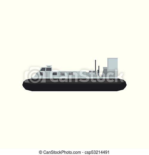 Transport., gráfico, combate naval, plano, móvil, grande ...