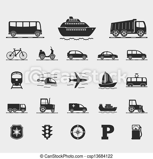 Transport Icons - csp13684122