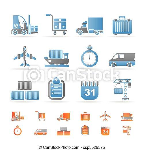transport, logistique, expédition - csp5529575