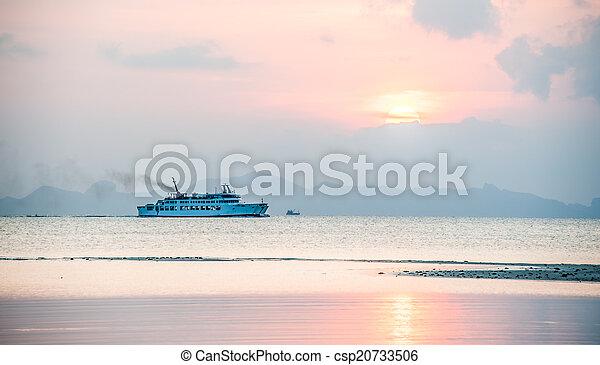 transport ship - csp20733506