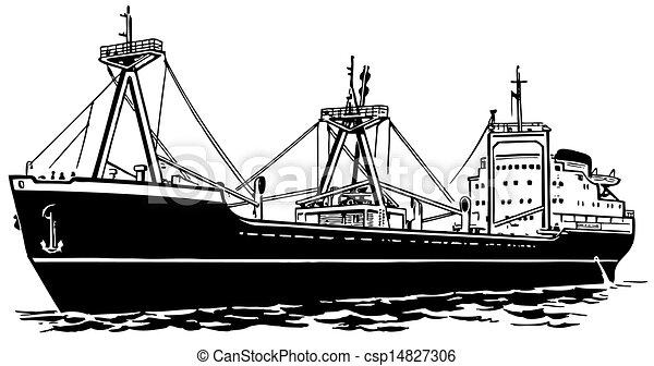 Transport ship - csp14827306