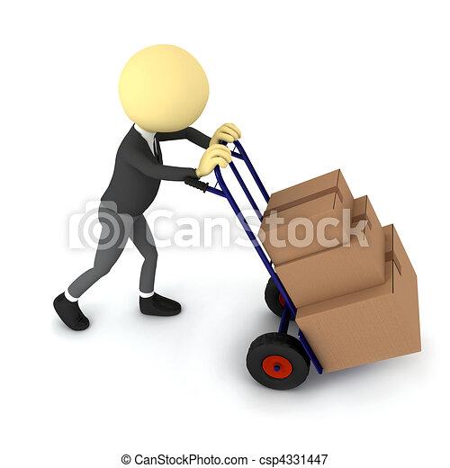 transport, tjeneste - csp4331447