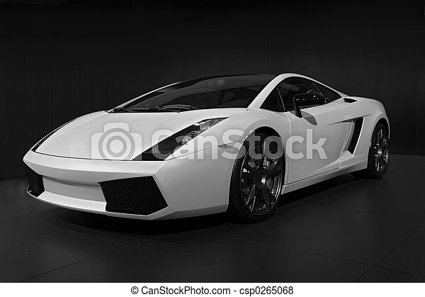 transportation 019 auto show car - csp0265068