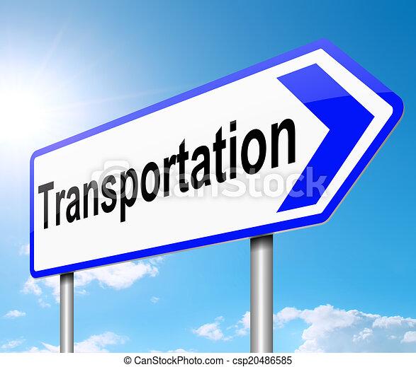 Transportation concept. - csp20486585