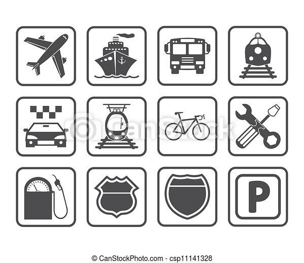 Transportation icon. - csp11141328