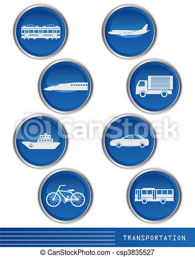 Transportation icon - csp3835527