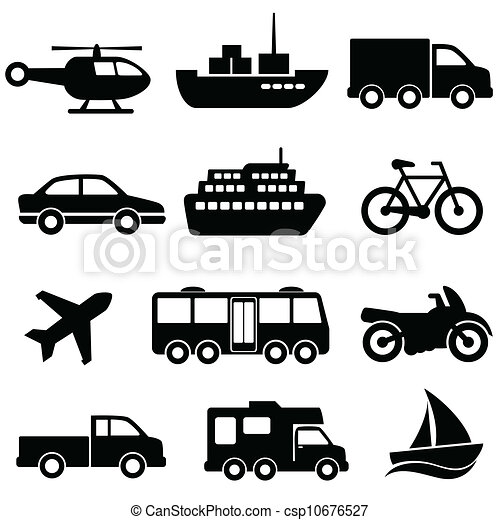 Transportation icon set - csp10676527
