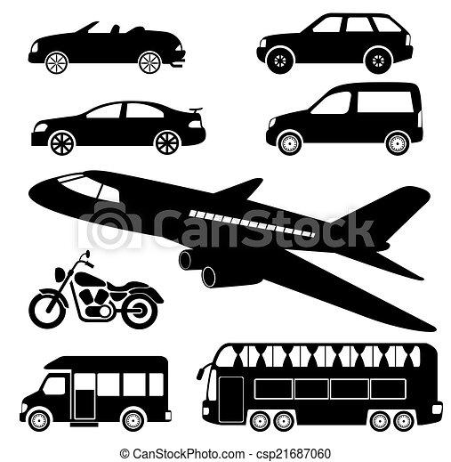 transportation icons - csp21687060