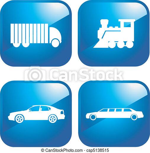 Transportation icons - csp5138515