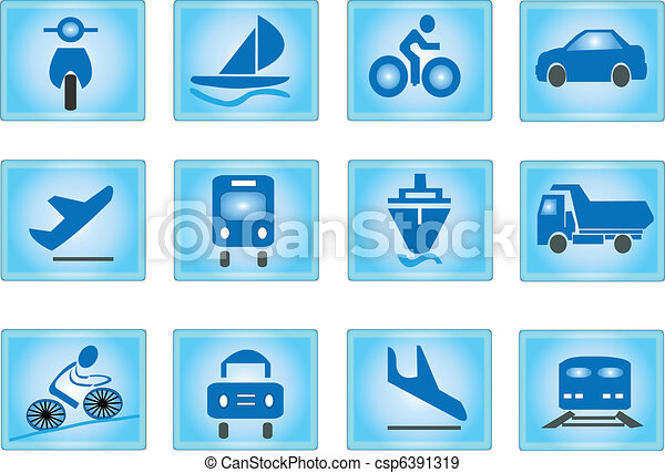 Transportation Icons - csp6391319