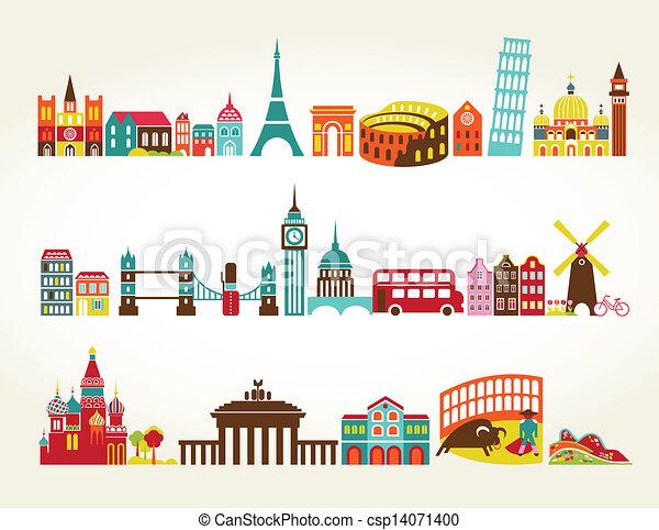 transportation icons set - csp14071400