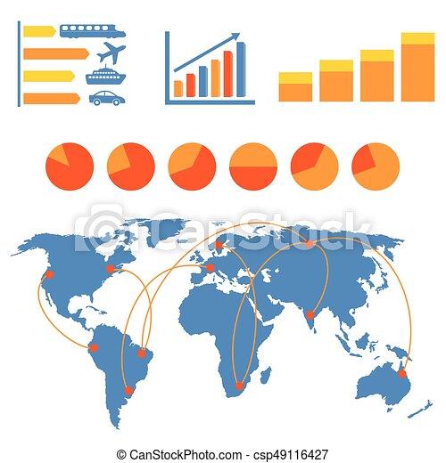 Transportation infographics - csp49116427