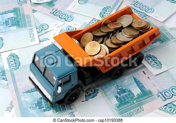 Transportation Money - csp10193388