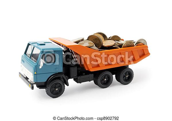 Transportation money - csp8902792