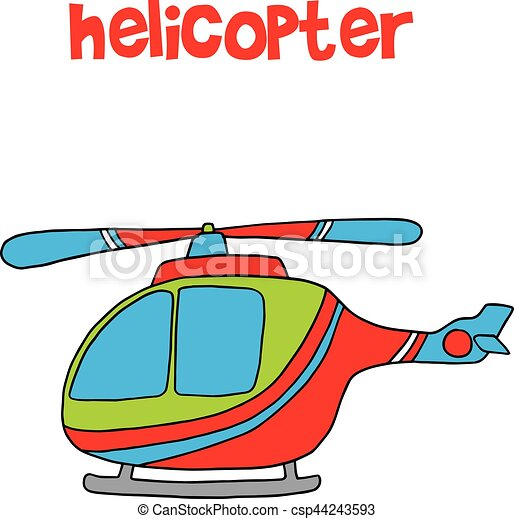 transportation of helicopter cartoon for kids vector eps vectors rh canstockphoto com clipart helicoptero clipart helicopter black and white