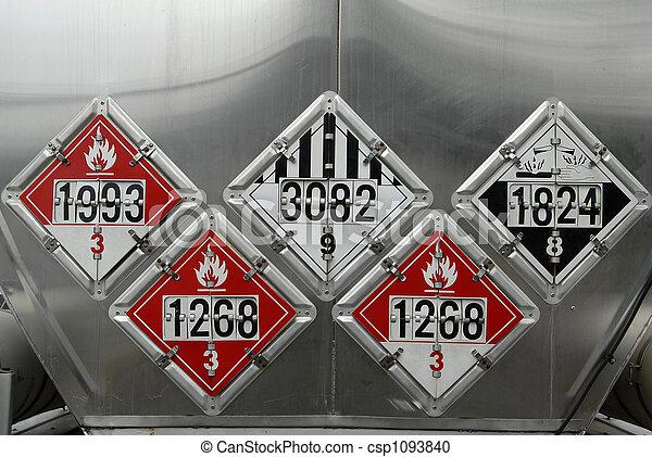 Usdot Hazardous Materials Transportation Placards