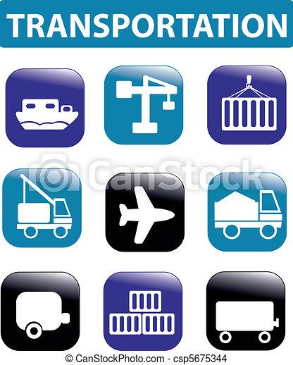 transportation signs - csp5675344